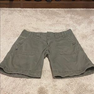 Sanctuary Shorts - Sanctuary dark khaki shorts size 25